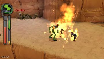 Immagine -4 del gioco Ben 10: Alien Force - The Game per PlayStation PSP