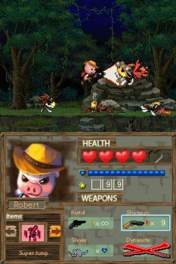Immagine -15 del gioco Barnyard Blast - il porcello delle tenebre per Nintendo DS