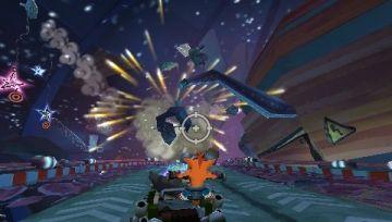 Immagine -2 del gioco Crash Tag Team Racing per PlayStation PSP