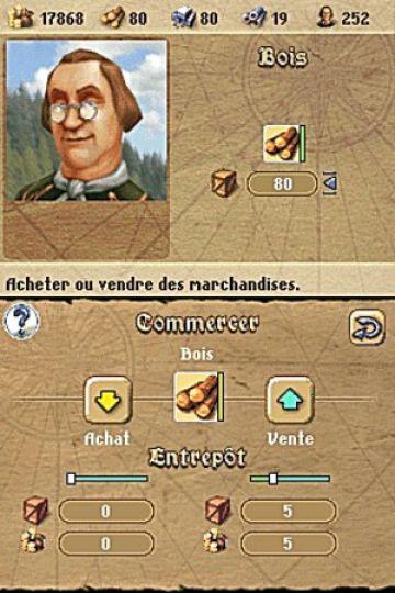 Immagine -3 del gioco Anno 1701 - Agli Albori delle Scoperte per Nintendo DS