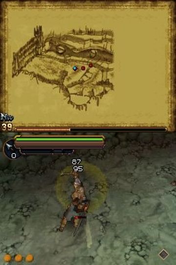 Immagine -2 del gioco Il Signore degli Anelli: L'Avventura di Aragorn per Nintendo DS