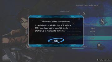 Immagine -3 del gioco Attack on Titan 2: Final Battle per Xbox One