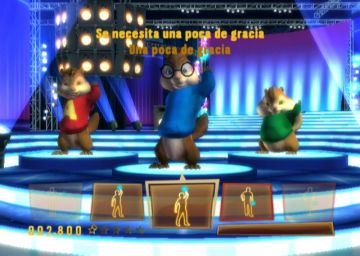 Immagine -2 del gioco Alvin & The Chipmunks per Nintendo Wii