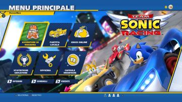 Immagine -6 del gioco Team Sonic Racing per PlayStation 4