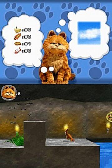 Immagine -12 del gioco Garfield 2 per Nintendo DS