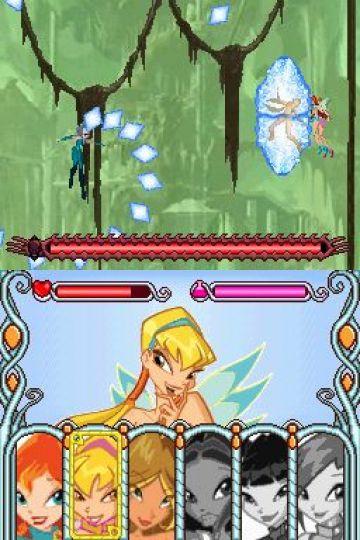 Immagine -3 del gioco Winx Club: The Quest for the Codex per Nintendo DS