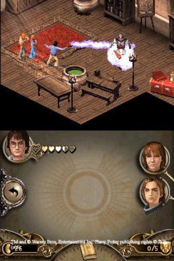 Immagine -1 del gioco Harry Potter e il Calice di Fuoco per Nintendo DS