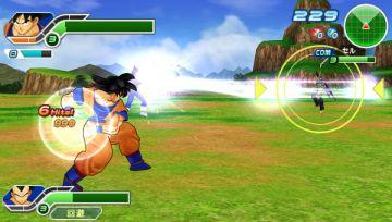 Immagine -5 del gioco Dragon Ball Z: Tenkaichi Tag Team per PlayStation PSP