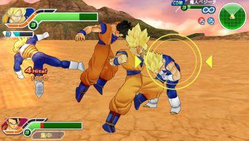 Immagine -4 del gioco Dragon Ball Z: Tenkaichi Tag Team per PlayStation PSP