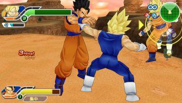 Immagine -3 del gioco Dragon Ball Z: Tenkaichi Tag Team per PlayStation PSP