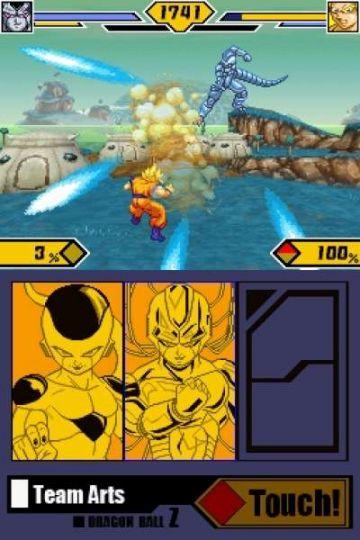 Immagine -2 del gioco Dragon Ball Z: Supersonic Warriors 2 per Nintendo DS