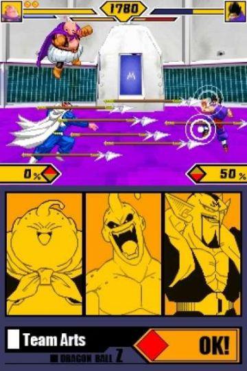 Immagine -1 del gioco Dragon Ball Z: Supersonic Warriors 2 per Nintendo DS