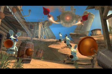 Immagine -4 del gioco Rayman: Raving Rabbids per Xbox 360