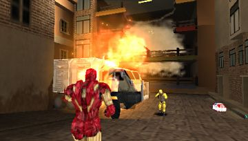 Immagine -3 del gioco Iron Man 2 per PlayStation PSP