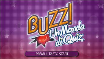 Immagine 0 del gioco Buzz! Un Mondo Di Quiz per PlayStation PSP