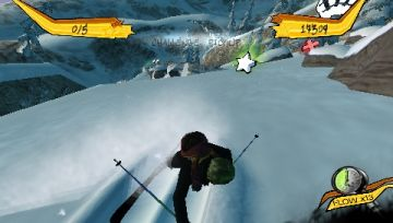 Immagine -5 del gioco Freak Out: Extreme Freeride per PlayStation PSP