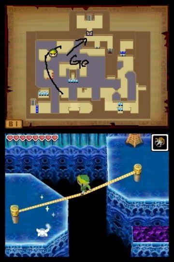 Immagine -1 del gioco The Legend of Zelda: Phantom Hourglass per Nintendo DS