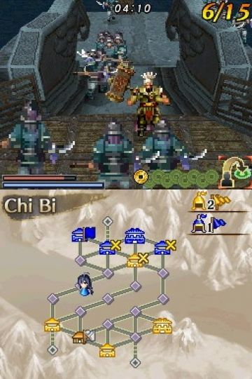Immagine -4 del gioco Dynasty Warriors DS: Fighter's Battle per Nintendo DS