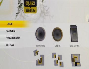 Immagine -5 del gioco NatGeo Quiz! Wild Life per Nintendo Wii