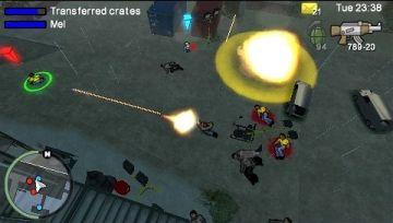 Immagine -2 del gioco Grand Theft Auto: Chinatown Wars per PlayStation PSP