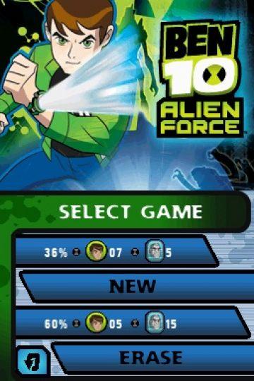 Immagine -5 del gioco Ben 10: Alien Force - The Game per Nintendo DS