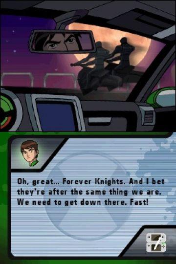 Immagine -4 del gioco Ben 10: Alien Force - The Game per Nintendo DS