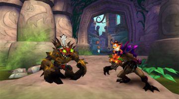 Immagine -3 del gioco Crash of the Titans per PlayStation PSP