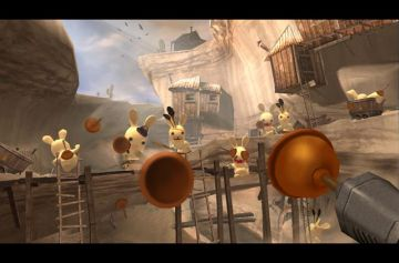 Immagine -2 del gioco Rayman: Raving Rabbids per PlayStation 2