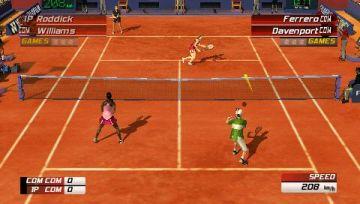Immagine -5 del gioco Virtua Tennis 3 per PlayStation PSP