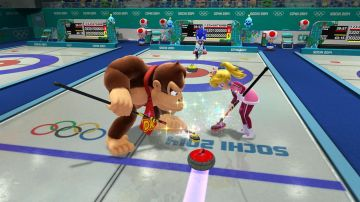 Immagine -1 del gioco Mario & Sonic ai Giochi Olimpici invernali di Sochi 2014 per Nintendo Wii U