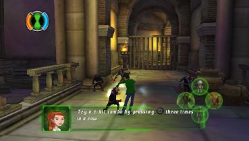 Immagine -7 del gioco Ben 10: Ultimate Alien: Cosmic Destruction per PlayStation PSP