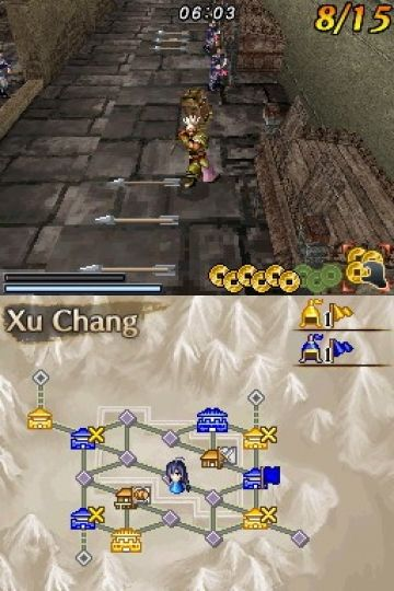 Immagine -3 del gioco Dynasty Warriors DS: Fighter's Battle per Nintendo DS
