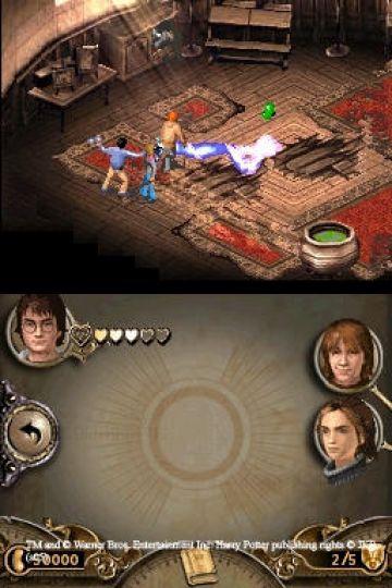 Immagine -5 del gioco Harry Potter e il Calice di Fuoco per Nintendo DS