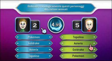 Immagine -4 del gioco Chi vuol essere Milionario? 2 per Nintendo Wii