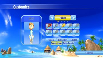 Immagine -2 del gioco Racket Sports Party per Nintendo Wii