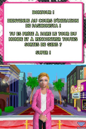 Immagine -1 del gioco Barbie Fashionista in Viaggio per Nintendo DS
