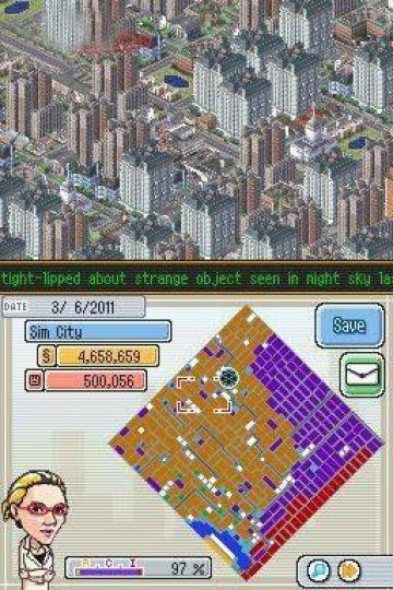 Immagine -3 del gioco SimCity DS per Nintendo DS