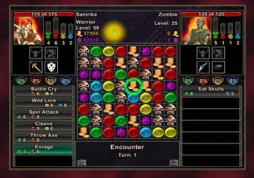 Immagine -2 del gioco Puzzle Quest: Challenge of the Warlords per Nintendo Wii