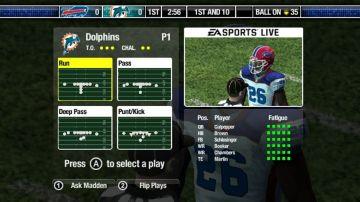 Immagine -2 del gioco Madden NFL 08 per Nintendo Wii