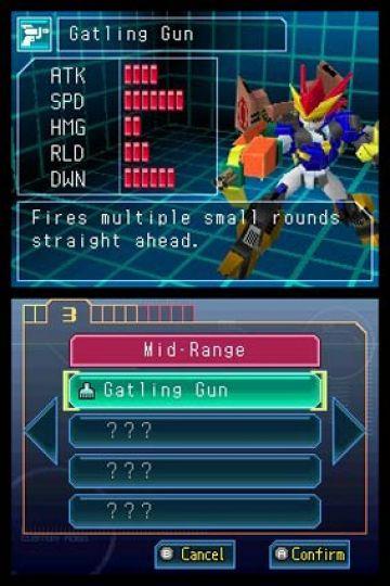 Immagine -4 del gioco Custom Robo Arena per Nintendo DS