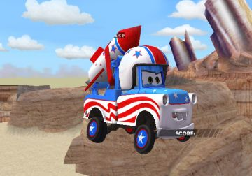 Immagine -5 del gioco Cars Race-O-Rama per Nintendo Wii