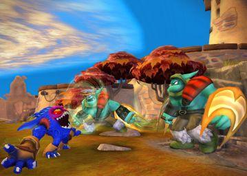 Immagine -4 del gioco Skylanders Giants per Nintendo Wii