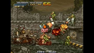 Immagine -15 del gioco Metal Slug Anthology per PlayStation PSP