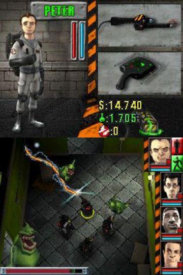 Immagine -4 del gioco Ghostbusters: The Video Game per Nintendo DS