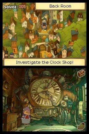 Immagine -5 del gioco Il Professor Layton e il Futuro Perduto per Nintendo DS