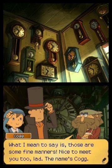 Immagine -4 del gioco Il Professor Layton e il Futuro Perduto per Nintendo DS