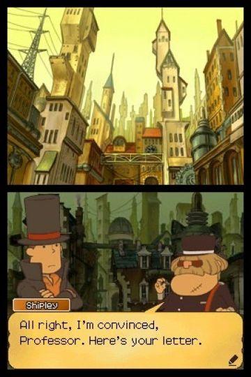 Immagine -2 del gioco Il Professor Layton e il Futuro Perduto per Nintendo DS
