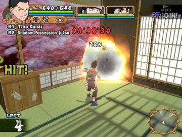 Immagine -5 del gioco Naruto: Uzumaki Chronicles 2 per PlayStation 2
