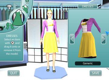 Immagine -1 del gioco Project Runway per Nintendo Wii