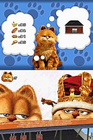 Immagine -11 del gioco Garfield 2 per Nintendo DS
